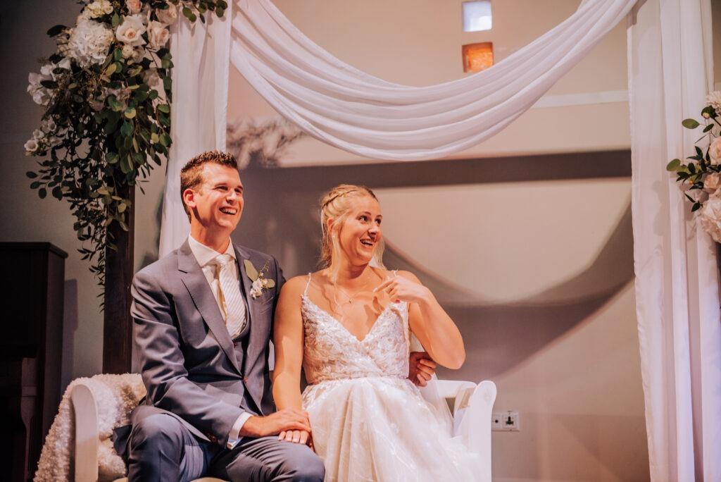 Trouwen, bruidspaar, ceremonie